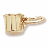 10K Gold Baby Cup Accent Charm by Rembrandt Charms