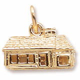 Rembrandt Ranch House Charm, Gold Plate