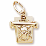 10K Gold Rotary Phone Charm by Rembrandt Charms