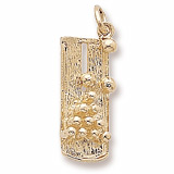 14K Gold Bowling Lane Charm by Rembrandt Charms