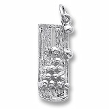 Sterling Silver Bowling Lane Charm by Rembrandt Charms