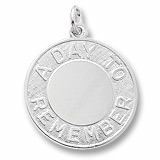 Rembrandt A Day To Remember Charm, Sterling Silver