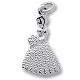 Flower Girl Charm with Bouquet