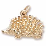 Rembrandt Hedgehog Charm, 14K Yellow Gold