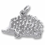 Sterling Silver Hedgehog Charm by Rembrandt Charms