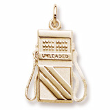 10K Gold Gas Pump Charm by Rembrandt Charms