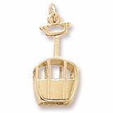 10K Gold Ski Gondola Charm by Rembrandt Charms