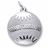 Sterling Silver Christmas Ornament Charm by Rembrandt Charms