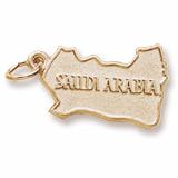 10K Gold Saudi Arabia Charm by Rembrandt Charms