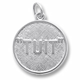 Sterling Silver I'll Get Round TUIT Charm by Rembrandt Charms