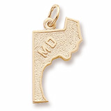 14K Gold Maryland Charm by Rembrandt Charms