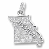 Sterling Silver Missouri Charm by Rembrandt Charms