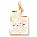 14K Gold Utah Charm by Rembrandt Charms