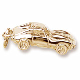 10k Gold Sports Car Charm by Rembrandt Charms
