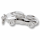 Sterling Silver Sports Car Charm by Rembrandt Charms