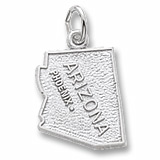 Sterling Silver Phoenix Arizona Charm by Rembrandt Charms