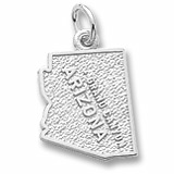 Sterling Silver Grand Canyon Arizona Charm by Rembrandt Charms