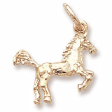 10K Gold Horse Charm by Rembrandt Charms