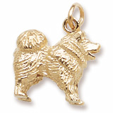10K Gold Chow Chow Charm by Rembrandt Charms