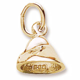 10K Gold Chocolate Chip Charm by Rembrandt Charms