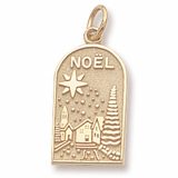 10K Gold Noel Charm by Rembrandt Charms