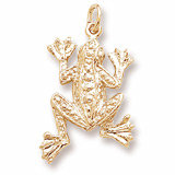10K Gold Frog Charm by Rembrandt Charms