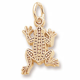 14K Gold Frog Charm by Rembrandt Charms