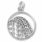 Sterling Silver Roller Coaster Charm by Rembrandt Charms