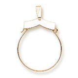 10k Gold Purity Charm Holder by Rembrandt Charms