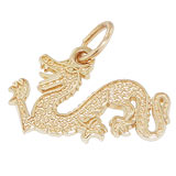 Gold Plated Dragon Charm by Rembrandt Charms
