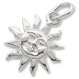 Sterling Silver Small Cayman Sunshine Charm by Rembrandt Charms