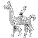 14K White Gold Llama Charm by Rembrandt Charms
