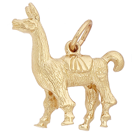 14K Gold Llama Charm by Rembrandt Charms