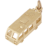 10K Gold RV. Motor Home Charm by Rembrandt Charms