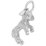 14K White Gold Lamb Charm by Rembrandt Charms