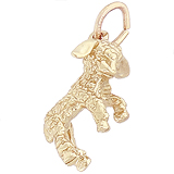 Gold Plated Lamb Charm by Rembrandt Charms