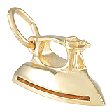 10K Gold Iron Charm by Rembrandt Charms