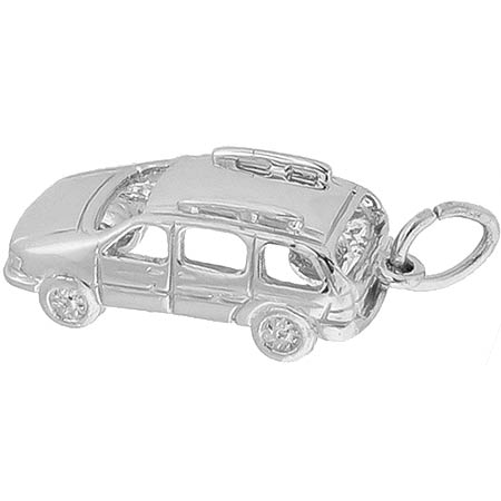 Sterling Silver Mini Van Charm by Rembrandt Charms