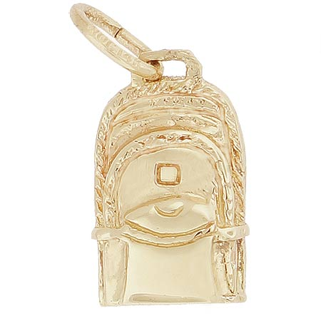 14k Gold Backpack Charm by Rembrandt Charms