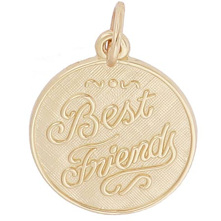 Gold Plated Best Friends Charm by Rembrandt Charms
