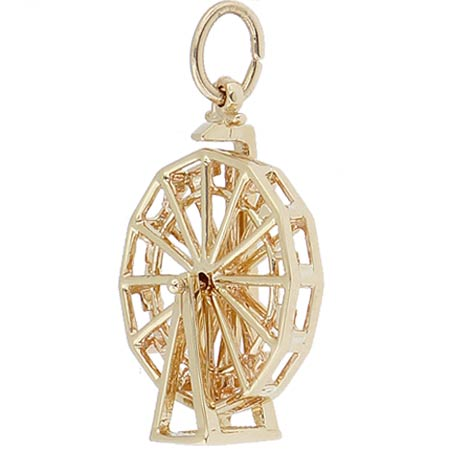14k Gold Ferris Wheel Charm by Rembrandt Charms