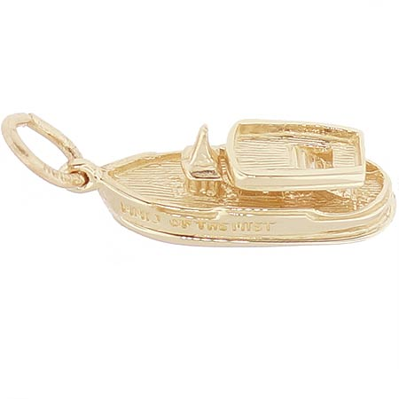 10K Gold Maid of the Mist Charm by Rembrandt Charms