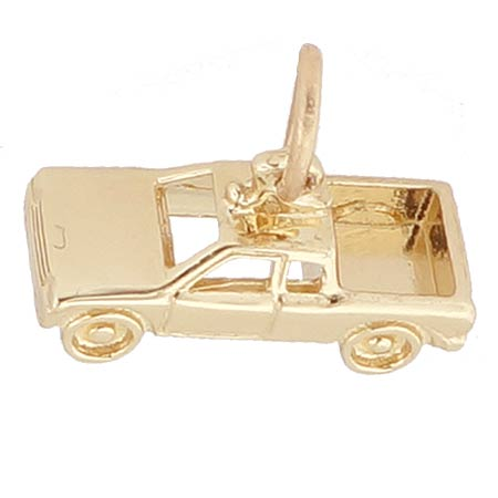 Gold Plated Pickup Truck Charm by Rembrandt Charms