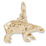 14K Gold Polar Bear Charm by Rembrandt Charms