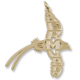 10K Gold Bermuda Longtail Charm by Rembrandt Charms