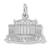 Sterling Silver Field Museum Charm by Rembrandt Charms