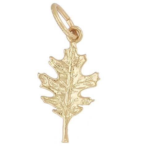 14K Gold Oak Leaf Charm by Rembrandt Charms