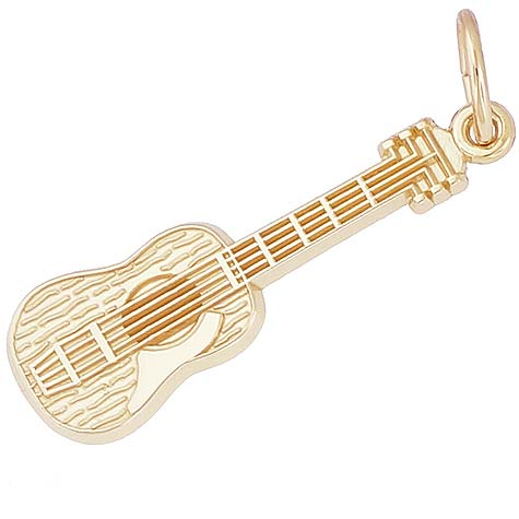 14K Gold Guitar Charm by Rembrandt Charms