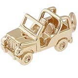 10k Gold Off Road Vehicle Charm by Rembrandt Charms