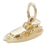 10K Gold Yacht Charm by Rembrandt Charms